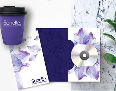 Sonelle Folder and Promotional Material