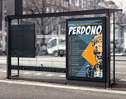 Perdono 2018 | Poster, Flyer