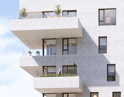 Apartment development Stavanger, Norway