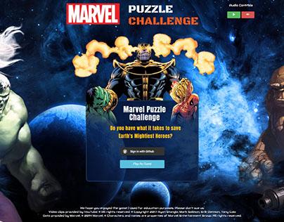 Marvel Puzzle Challenge