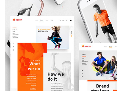 Logo, Branding & Website