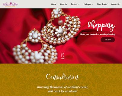Website Development for Wedding Trunk