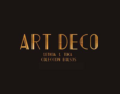 ART DECO _ Bag Collection/ Colección bolsos