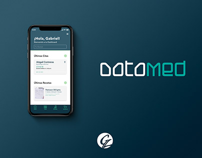 DataMed - Personal Medical App UX-UI Project