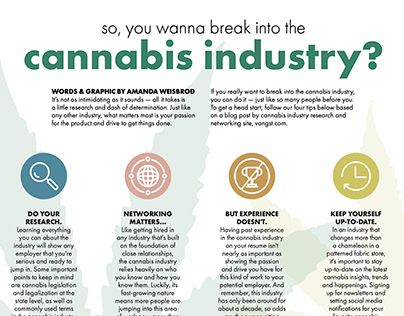 Break into the Cannabis Industry, Aug. 2021