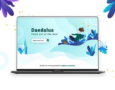 Daedalus - Website Design
