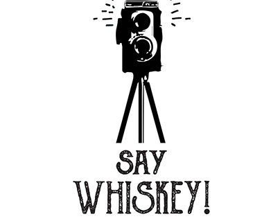 Say Whiskey! logo and business cards