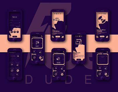 "FastDude ""A courier service app"""
