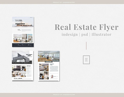 Real Estate Flyer Template Vol.04