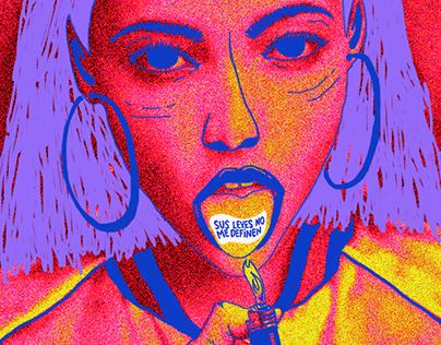 Illustration ☻ flyers