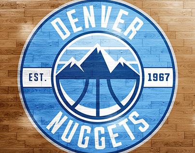 Denver Nuggets Rebrand - 2016