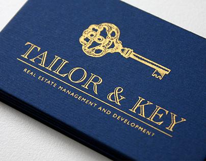 Identidad Corporativa para Tailor & Key