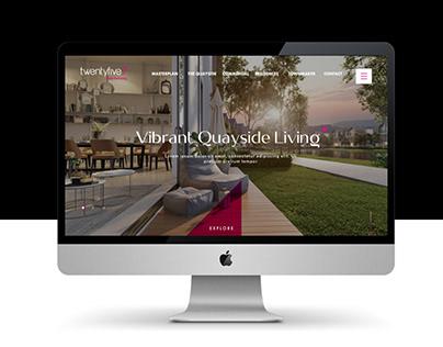Twentyfive.7 Website Design