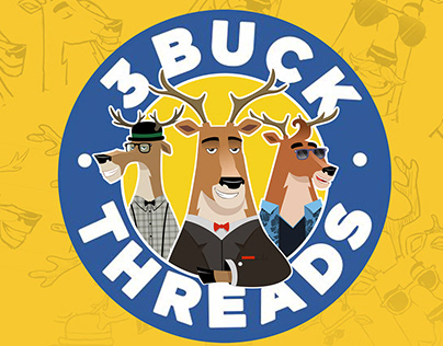 3 BUCK THREADS - Character designs