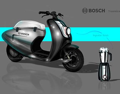 Scooter design sketch
