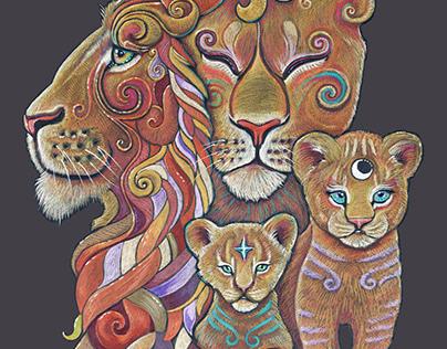 Lion Totem