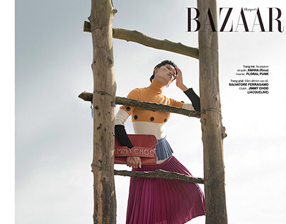 At the Seaside //Harper's Bazaar Vietnam //Nov..2016