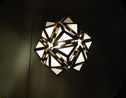 Luminária modular