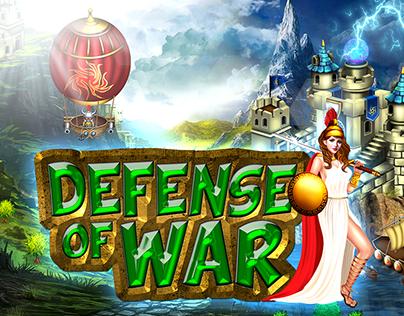 Defense Of War-Game Graphics