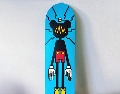 Deity Custom Skateboard