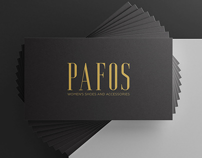 Визитка | Business card for a women's shoe store