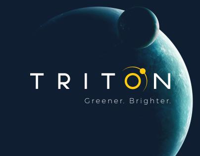 Triton LED Lighting Logo Development