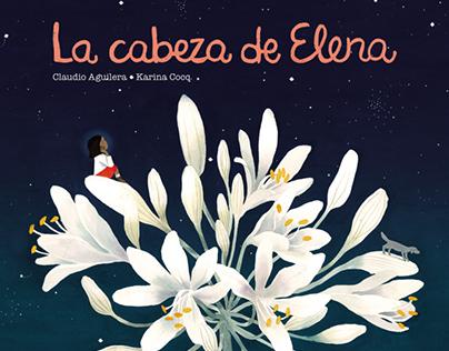 La cabeza de Elena Libro álbum