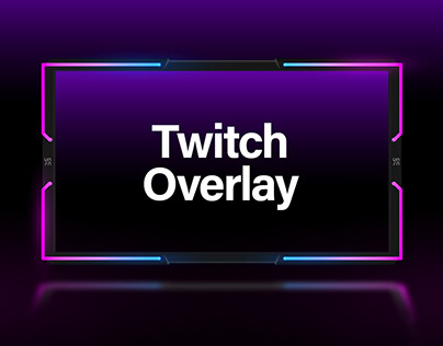 Twitch overlay - Free download (PSD)