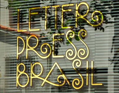 Letterpress Brasil – Folha de Ouro