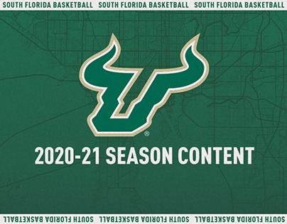South Florida Basketball 2020-21 Season Content (WIP)