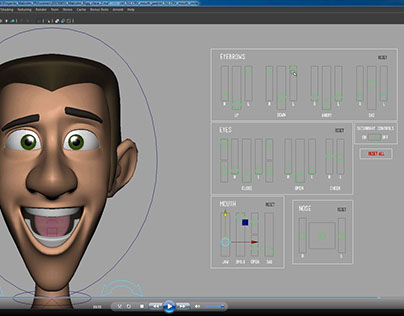 Character Rigging, Malcolm
