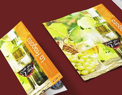 La Fragata - Menus e Business Card