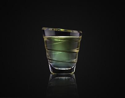 BECHEROVKA LIGUER GLASS