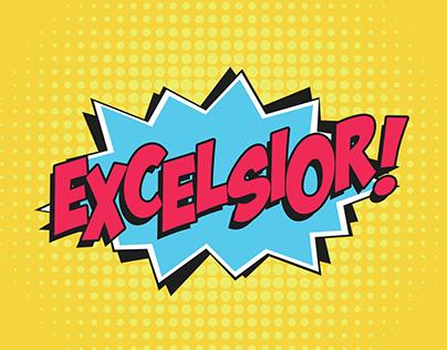 Excelsior! GIF