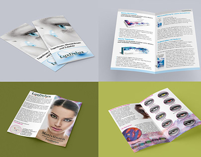 Brochures for opticians - serious