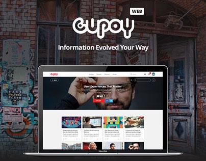 Cupoy 傳遞知識最佳解決方案 | 網站設計