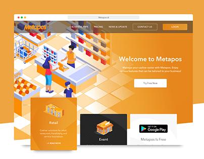 Point Of Sales Web Design Metapos (POS)