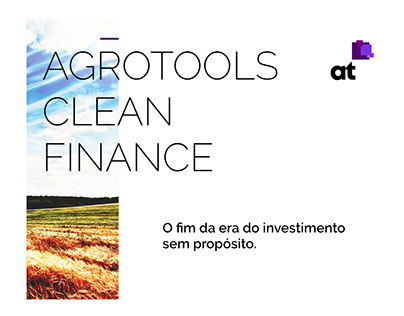 Agrotools | Evento Clean Finance