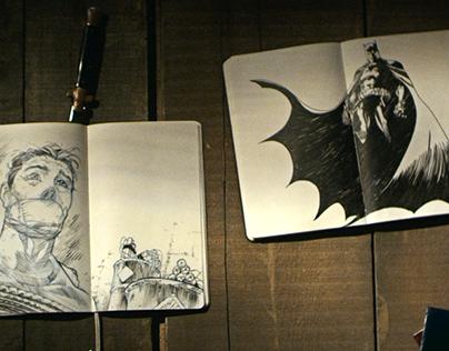 Commercial: Moleskine Batman Limited Edition Collection
