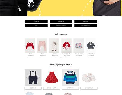 E-commerce Kid Shop