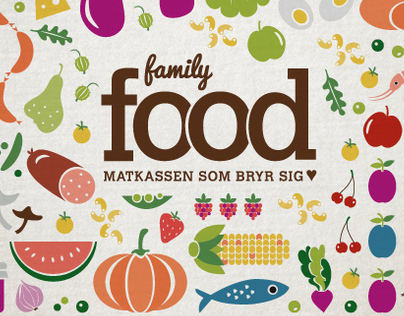Illustrations and logotype. Client: FamilyFood.