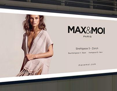 Affiche parking Suisse MAX&MOI