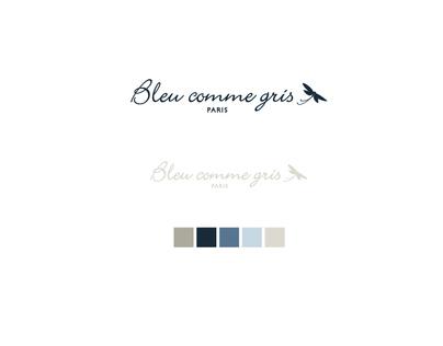 Bleu comme gris