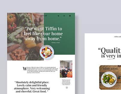Tiffin Café Website