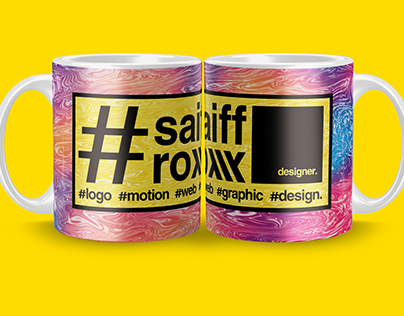 Saiff roxx Office Mug Design