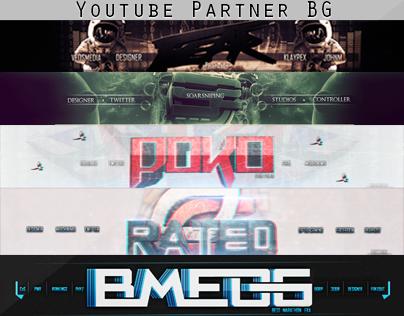 YouTube Partner Backgrounds