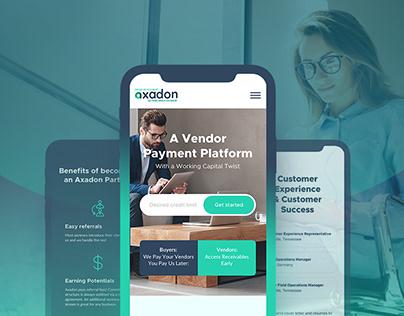 Axadon - payment platform.