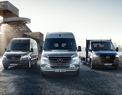 Mercedes-Benz New Sprinter Campaign