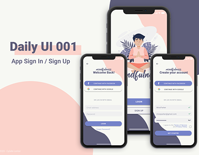 App Sign In / Sign Up
