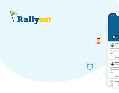 Rallyest - Mobile App